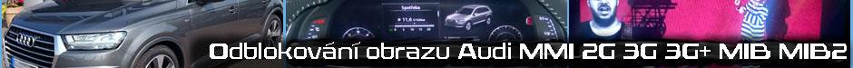 Video in motion Audi Q7 2015 MMI 4G MIB