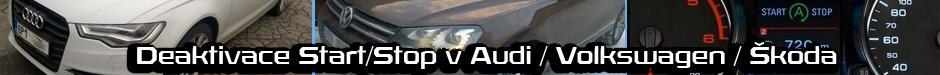 Switch off Start/Stop system in Audi, Volkswagen, Skoda